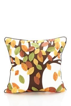 Falling Leaves Pillow.