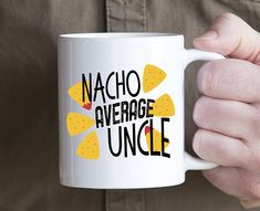 Uncle mug, pun gift for uncle, uncle announcement, coffee cup for uncle, funny uncle mug, gift from niece nephew, brother mug, uncle to be