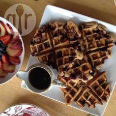 Waffle vegano @ allrecipes.com.br