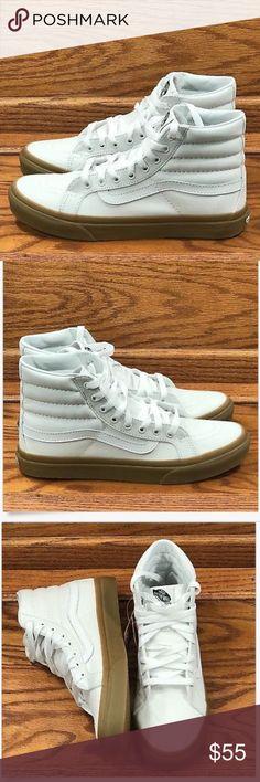 62682672174a7b Vans Hi Slim Light Gum True White Shoes Vans Hi Slim Light Gum True White  High Top Shoes Size Men Women 9 Brand new in box Vans Shoes Athletic Shoes