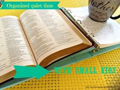 Forming a consistent daily quiet time in God's word and in prayer can be challenging...especially when you have little kids! Here are some tips on getting into the habit!