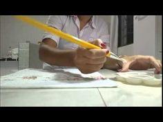 Vida Melhor - Artesanato: Decoupagem com guardanapo artesanal (Mamiko) - YouTube