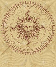 32963941-Compass-rose-with-sun-on-grunge-background-Eps8-CMYK-Organized--Stock-Photo.jpg (1083×1300)