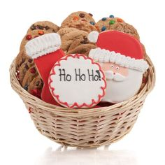 Christmas Cookie Gift Basket 24 Pc *** Want to know more, click on the image. #Food