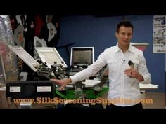 Curing Shirts with a Flash Dryer, Screen Printing Flash Dryer - YouTube