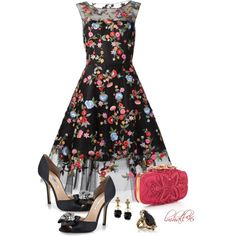 """Oscar de la Renta"" by lmhall96 on Polyvore"