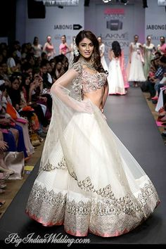 Anushree Reddy Lakme Fashion Week 2014 | Lehengas & Sarees | Bigindianwedding