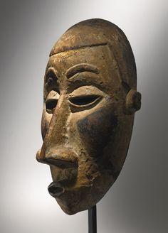 Kongo-Yombe Mask, Democratic Republic of the Congo | lot | Sotheby's