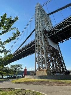 Fort Lee, Washington Heights, Hudson River, George Washington Bridge, New York City, New York, Nyc