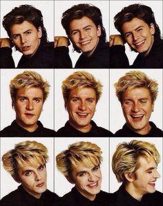 Duran Duran: the divine comedy John Taylor, Roger Taylor, Nick Rhodes, Simon Le Bon, Great Bands, Cool Bands, Birmingham, Fab Five, The Hollywood Bowl