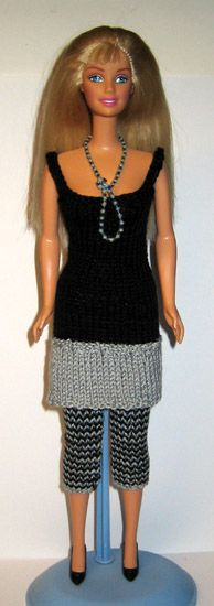 "Knitting and Crochet Patterns for ""Barbie"" « crafting in O(n!) time"