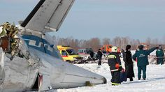 Plane crashes in Siberia, killing 31 of 43 aboard