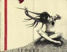 """Erika Kuhn """"Distancia: soplo inexplicable que emigra de una soledad a otra"""" (Noelia Palma)"""