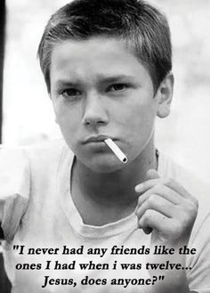 "Stand By Me. One of my all time favorites. ""I never had friends like the ones I had when I was twelve. Jesus, does anyone?"""