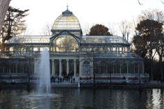El Retiro.- Palacio de Cristal ( Madrid )