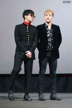 G-Dragon and Seungri Vip Bigbang, Daesung, Astro Sanha, G Dragon Fashion, Day6 Sungjin, Gu Family Books, G Dragon Top, Top Choi Seung Hyun, Gd And Top