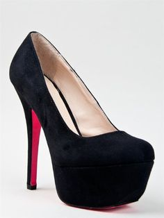Black not your thing?  Check out the other 5 stellar shades....  #shoes #high heels #black high heels