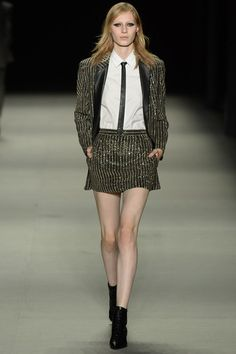 Saint Laurent Spring Summer 2014 Show Report: Dirty Pretty Things | Grazia Fashion Shows