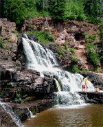 Gooseberry Falls, North Shore MN