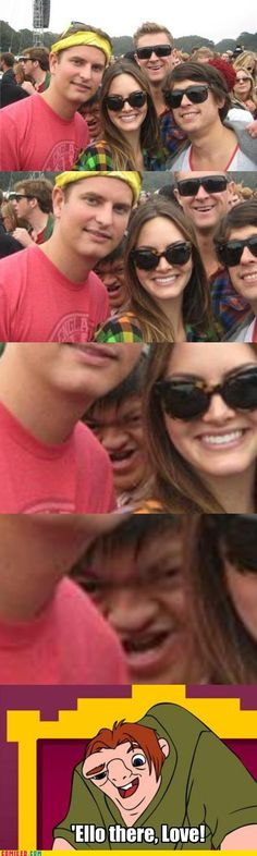 I've been cracking up for at least 5 minutes.  Funniest photo bomb ever.