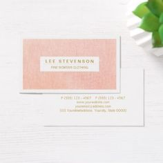 81 best business cards for women images on pinterest lipsense womens fashion boutique light pink feminine business card on sale now save with code colourmoves