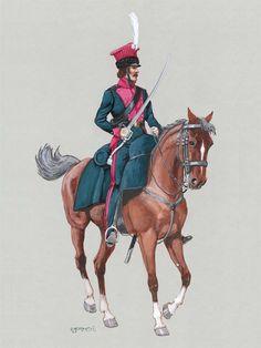 Tartaro lituano della guardia imperiale francese