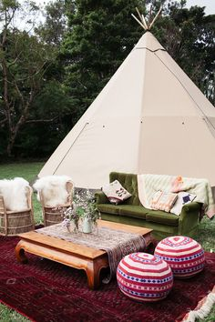Event Hire of Marquee Tipis and Tents for Weddings and Events in Byron Bay Australia & Bell tent interior - Boho Birthday party - The Dreameru0027s lounge ...