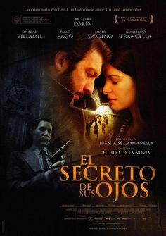"""Ciclo de Cine Argentino: """"El secreto de sus Ojos"""". Viernes 30 de noviembre, 19:00 horas. Sala de Conferencias y Exposiciones UCSC, Caupolicán 459. Entrada liberada."""