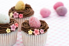 Pretty Easter Cupcakes