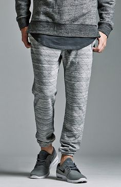 The Varsity Fit Quilted Fleece Jogger Pants