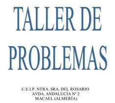 COMPLETO Taller de Problemas de matematicas para Primaria