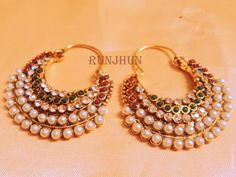 Largest online marketplace for unique Indian products with more than jewellery, sarees, salwar suits and handmade and natural products. It is ETSY of India. Fashion Earrings, Fashion Jewelry, Asian Wedding Dress, Designer Bridal Lehenga, Ethnic Wear Designer, Indian Wear, Indian Outfits, Indian Jewelry, Wedding Jewelry