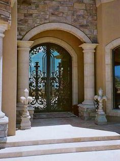 Make your entry majestic with Ancient Stone.  See more at www.ancientstone.com