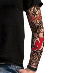 New Jersey Devils Light Undertone Tattoo Sleeve