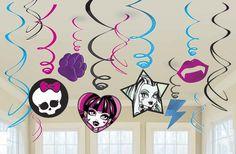 #ideas para unas guirnaldas monstruosas... Vampiros, Monster High, colmillos... #personaliza tus fiestas... Recuerda tu la #imaginación, nosotros la #impresión... www.bramona.com