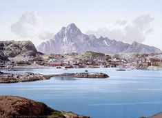Magnificent color postcards tout the glaciers and fjords of 1890s Norway
