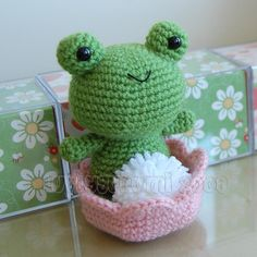 Froggy Gurumi Crochet Pattern by LuvlyGurumi on Etsy. $4.00 USD, via Etsy.