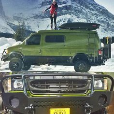 Sportsmobile exploring British Columbia and home based in Alaska #aluminess #bumpers @kevyd_10 and @sportsmobiles