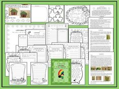 This Leprechaun unit is so much fun! Students respond enthusiastically to the learning activities as well as the possibility of seeing an actual leprechaun in their own classroom. $