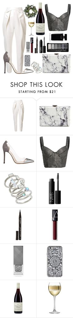 """Untitled #181"" by emi201295 ❤ liked on Polyvore featuring Delpozo, Balenciaga, Gianvito Rossi, Bibhu Mohapatra, Kendra Scott, NARS Cosmetics, Smith & Cult, Narciso Rodriguez, Burberry and Domaine Joseph Voillot"
