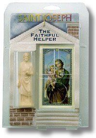 4 inch St. Joseph The Worker Faithful Helper - Tan - 10 Pack by HolyHub. $48.95. Keep Saint Joseph The Faithful Helper on your property as a sign of your conviction. A beautiful card with a prayer to Saint Joseph is provided. 10 units per order/pack.