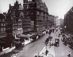 Knightsbridge 1896 looking east, London