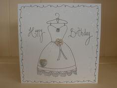 hand drawn birthday