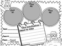 {FREE} Drawing Conclusions Graphic Organizer