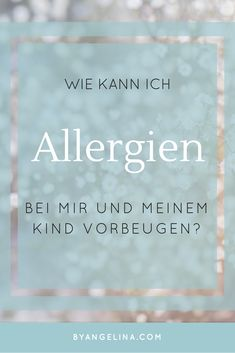 Allergien. Ein vieldiskutiertes Thema. Kein Wunder, denn Allergien sind immer mehr auf dem Vormarsch: Waren 1990 noch 20 Prozent der Menschen von einer Allergie betroffen, sind es im Jahre 2000 schon 30% - Tendenz steigend. Medizin, Arzt, Pollen, Nahrungsmittel, Insekten, Duftstoffe, Kind, vorbeugen, Schwangerschaft, Gesundheit, prävention Asthma, Social Security, Personalized Items, Cards, Med School, Medical Conditions, Food Items, Insects, Pregnancy