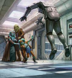 The Force Revealed, Ekaterina Burmak on ArtStation at https://www.artstation.com/artwork/ePVOP