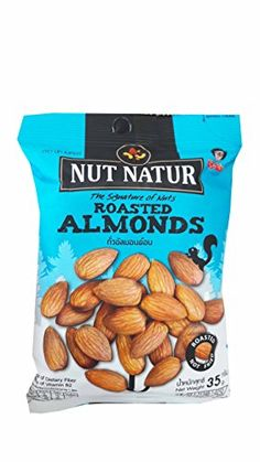 4 packs of Roasted Almonds The Signature of Nuts Roasted not Fried by koh kae 35 g pack *** More info could be found at the image url.(This is an Amazon affiliate link and I receive a commission for the sales)