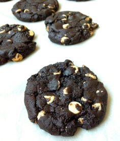 Oreo Inspired Cookies: Chewy Chocolate-White Chocolate Chip Cookies