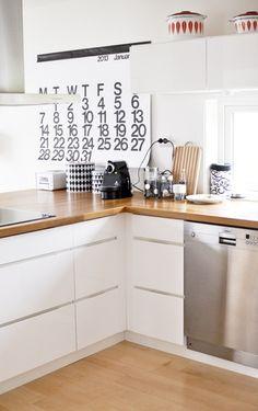 Grafisk hjem i svart og hvitt - Stilig familiehjem på Jæren - Boligpluss.no