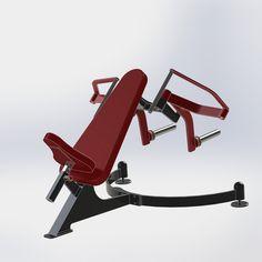 Fitness Equipment, No Equipment Workout, Home Made Gym, Dream Gym, Gym Machines, My Gym, Shake Recipes, Machine Design, Bodybuilder